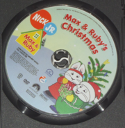 Max and Ruby's Christmas DVD Disc