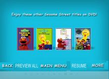 Sesame Street Kids Favorite Song 2 DVD Previews2