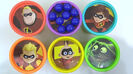 Toys Unlimited Learning Colors with THE INCREDIBLES 2 Movie Characters Play-Doh Lid TOY SCHOOL Sound Ideas, ORCHESTRA BELLS - GLISS, UP, MUSIC, PERCUSSION 5