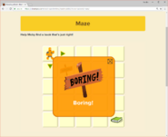 Moby's Maze Choosing a Book 2