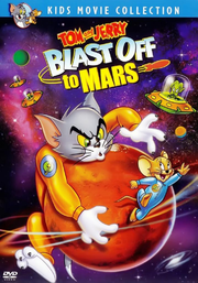 Tom and jerry blast off to mars dvd cover