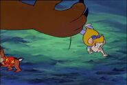 Chip 'n Dale Rescue Rangers An Elephant Never Suspects Sound Ideas, SWISH, CARTOON - SINGLE SWORD SWISH