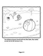 Grover's Story Circle Printable 2
