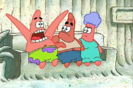 SpongeBob SqaurePants I'm With Stupid Hollywoodedge, Bird Rooster Two Crow PE021501