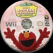 Elmo'sAtoZooAdventure(Wii)Disc