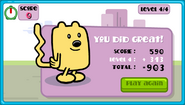 Wubbzy's Wow! Wow! Ring Catch End Screen