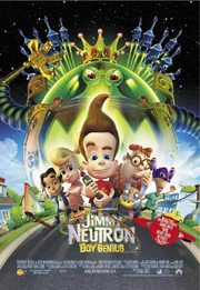 Jimmy neutron boy genius 2001 movie poster