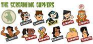 Screaming Gophers members
