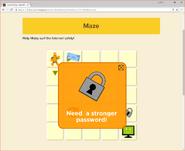 Moby's Maze Internet Safety 5