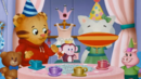 Daniel Tiger's Neighborhood Sound Ideas, HORN, PARTY - THREEBLOWS, NOISEMAKER