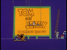 The tom and jerry comedy show title card