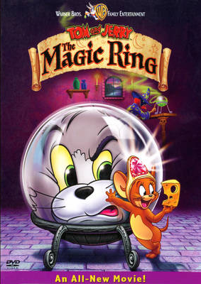 Tom and jerry the magic ring dvd cover