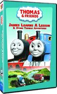 JamesLearnsaLesson2014DVD