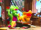 ZIP, CARTOON - QUICK WHISTLE ZIP OUT, Barney & Friends