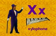 Rock 'N Learn- Alphabet (1998) Sound Ideas, COMEDY, ACCENT - WOOD XYLOPHONE- HOP UP