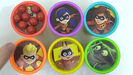 Toys Unlimited Learning Colors with THE INCREDIBLES 2 Movie Characters Play-Doh Lid TOY SCHOOL Sound Ideas, ORCHESTRA BELLS - GLISS, UP, MUSIC, PERCUSSION 7