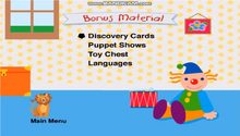 Baby Newton DVD Menu Bouns Material