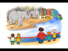 Caillou Hollywoodedge, Elephant Trumpeting PE024801 5