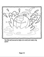 Grover's Story Circle Printable 5