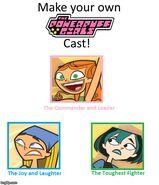 Total Drama Powerpuff Girls Cast