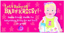 Barbie Let's Baby-sit Baby Krissy! Sound Ideas, BABY - LAUGHING, HUMAN 02