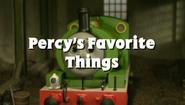 Percy'sFavoriteThings