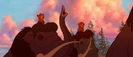 Brother Bear Elephant Trumpeting PE024801