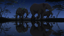 The Lion King II Simba's Pride Elephant Trumpeting PE024801 1
