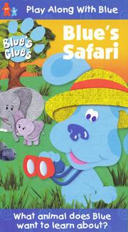 Blue's Clues Blue's Safari VHS Cover