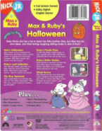 MaxandRuby'sHalloweenDVDspineandbackcover