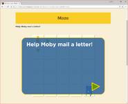 Moby's Maze Sending a Ltter 1