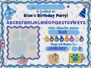 Blue's Birthday Adventure Sound Ideas, SQUEAK, RUBBER - RUBBING