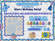 Blue's Birthday Adventure Sound Ideas, SQUEAK, RUBBER - RUBBING
