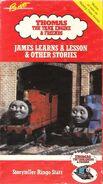 JamesLearnsaLesson1990VHScover