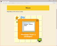 Moby's Maze Internet Safety 4