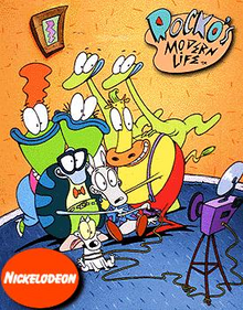 Rocko's Modern Life Cover