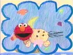 Elmo-drawing