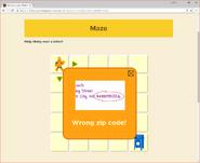 Moby's Maze Sending a Ltter 2
