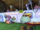 SpongeBob Your Shoe's Untied Squidward Burp 1