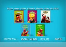 Sesame Street Kids Favorite Song 2 DVD Previews