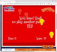 Balloon Game 3