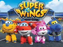 Super Wings Poster