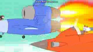 Tom and Jerry Fast and The Furry SCI FI - ROCKET LAND SPEEDER START AND AWAY 1