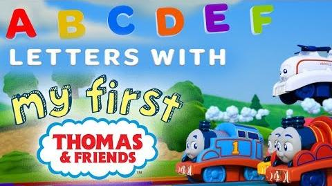 Learn the Alphabet with My First Thomas Railways Playing around with Thomas & Friends