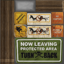 Reserve signage
