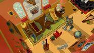 Tom and Jerry Blast Off to Mars RICOCHET - CARTOON RICCO, 09 1
