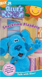 Blue's Room Snacktime Playdate VHS