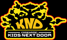 Codename kids next door logo