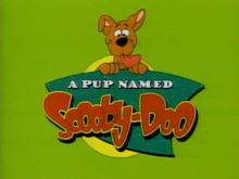 A pup named scooby-doo title