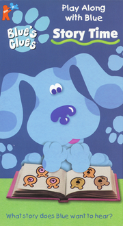 Blue's Clues Story Time VHS Cover